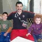 Con los nenes