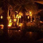 Anacoena at night - fantastic ambience!