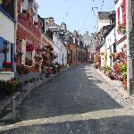 Une rue de Saint-Valery-sur-Somme