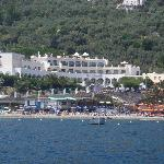 From the Bay of Nerano, Punta Campanella Hotel