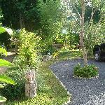 Car park and Gardens