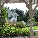 From inside the gazebo at the Windover Inn