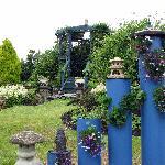 Beautiful garden at Redknowe