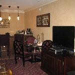 Atrium suite- living room