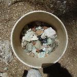 bucket full of gems