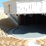 Visit the Amphi theatre and watch a concert