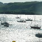 View from Seafood Temple, Oban