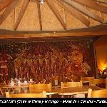 Vista del Mural interior del Hotel hain