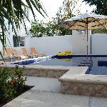 Magda and David's pool