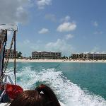Alex view from parasail boat