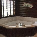 Whirlpool in suite