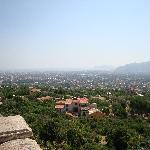 view of Palermo from Monreale