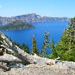 The beautiful crater lake