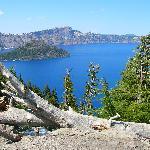The beautiful crater lake