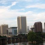 Skyline of Richmond downtown