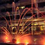 fountain comes alive some nights