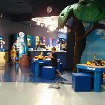 Pics of the interior play area