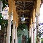 Moorish/Spanish architecture throughout