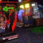 One of two free arcades