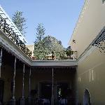 Beautiful hotel grounds