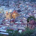Guanajuato at dusk