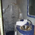 Salle de bain chambre saphir