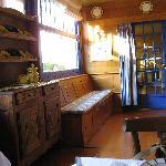 salle à manger pour les petits déjeuners