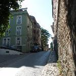 Street from Hippodrome to Hotel Ibrahim Pasha (hotel on left)