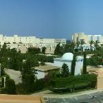 Panorama depuis la Chambre