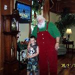 Santa and my son