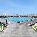 the lagoon huts