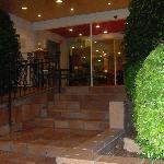 entrée principale de l'hotel