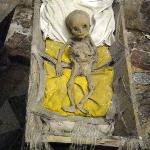 a baby resting in peace?