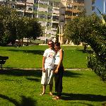 moi et mon copin prés de la plage