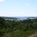 Boothbay Harbor from Turkey Run