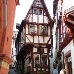 schmallste Haus in Bernkastel-Kues
