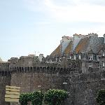 Outside the walls of St Malo