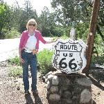 Historic Route 66 is close by