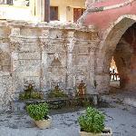 Rethymno town - fountain
