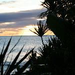 Sunset from the cove at Hale Maui