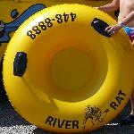 Tube with bottom (no hole) at River Rat