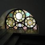 Window in the stairwell