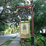 The Saragossa Inn Sign