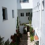 Hotel Facundo courtyard