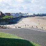beach at burnham on sea