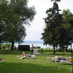 Hoteleigener Strand am Balaton
