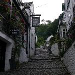 Quaint cobbled street