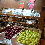 Apple Barn apples
