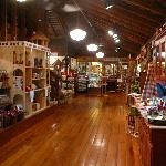 Front Interior of the Apple Barn General Store