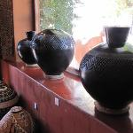 Exquisite Zulu pots and baskets